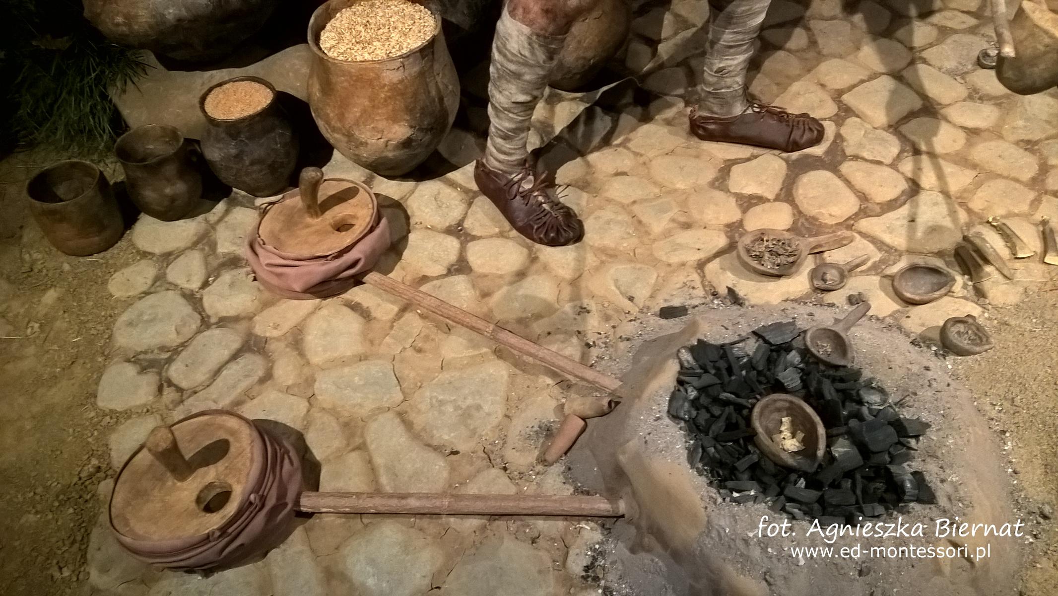 Piec, w którym wyrabiano przedmioty z brązu